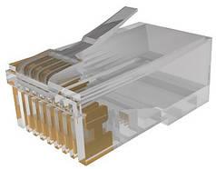 Коннектор Molex Коннектор RJ45 UTP 5e WE8E, 1,27 мкм золота