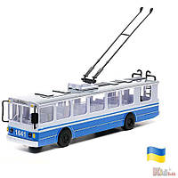 Троллейбус - модель со светом и вуком Технопарк 6900001190684