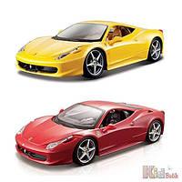 Автомодель Ferrari 458 ITALIA 1:24 Bburago 4893993260034