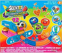 Набор массы для лепки 12 предметов Scentos 8463760455268