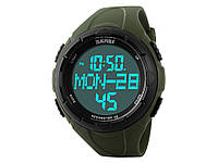 Спортивні водонепроникні годинники Skmei тисяча сто двадцять дві з LED підсвічуванням  Зелений