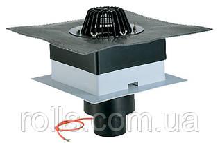 HL63.1H/1 Кровельная воронка для профлиста DrainBox DN110 с битумным полотном и подогревом 10-30Вт/230В