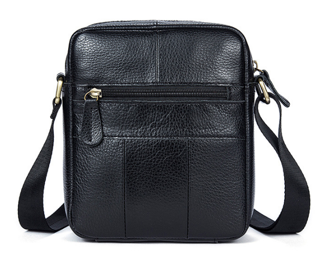 Мужская кожаная сумка Marranti M7717A Черный - Интернет-магазин livelyshop  в Виннице 2e1bcb96fc893