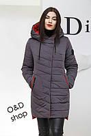 Женская стильная демисезонная куртка Джесс