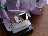Срібна Печатка з золотою пластиною, фото 1