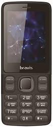 Мобильный телефон Bravis C240 Middle Dual Sim Black