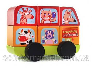 Автобус Весёлые животные LM-10 (13197)