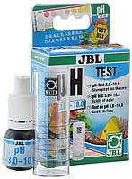 Тест для измерения рН воды JBL pH 3,0-10,0 Test-Set