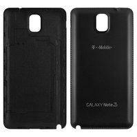Задня кришка батареї для мобільних телефонів Samsung N900 Note 3, N9000 Note 3, N9005 Note 3, N9006 Note 3, чорна
