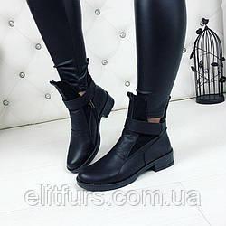 Ботинки FABIO MONELLI, прессованная кожа+эко замш
