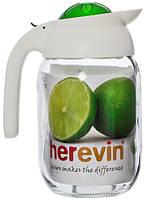 Кувшин HEREVIN TOLEDO GREEN /1.5 л