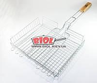 Решетка для гриля, барбекю (размер отдела для готовки 32х26х6см) Stenson MH-0140