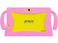 Планшет ATRIX Kids 7Q Quad Core (yellow-pink)