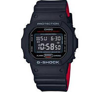 Мужские часы Casio G-Shock Classic Black/Red Layer-DW-5600HR-1