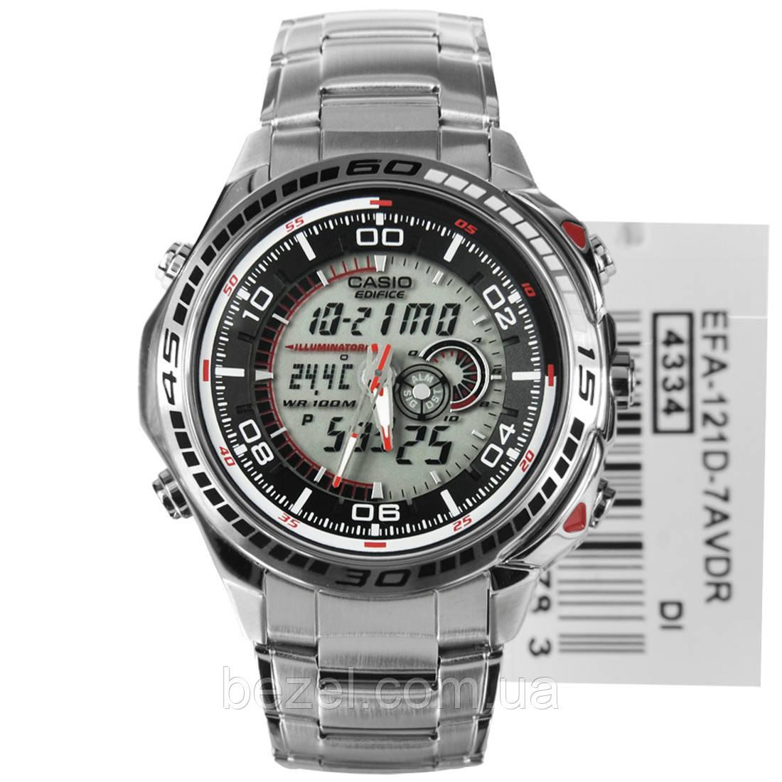 Мужские часы CASIO Edifice EFA-121D-7