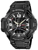 Мужские часы Casio G-Shock Sport-GA-1000FC-1A на браслете