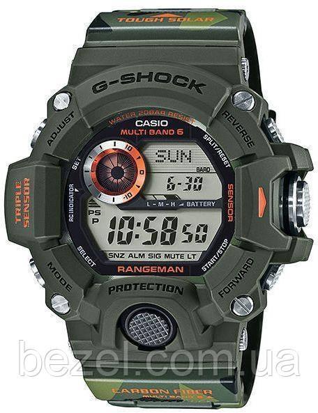 Мужские часы Casio G-Shock Rangeman Carbon-GW-9400CMJ-3ER