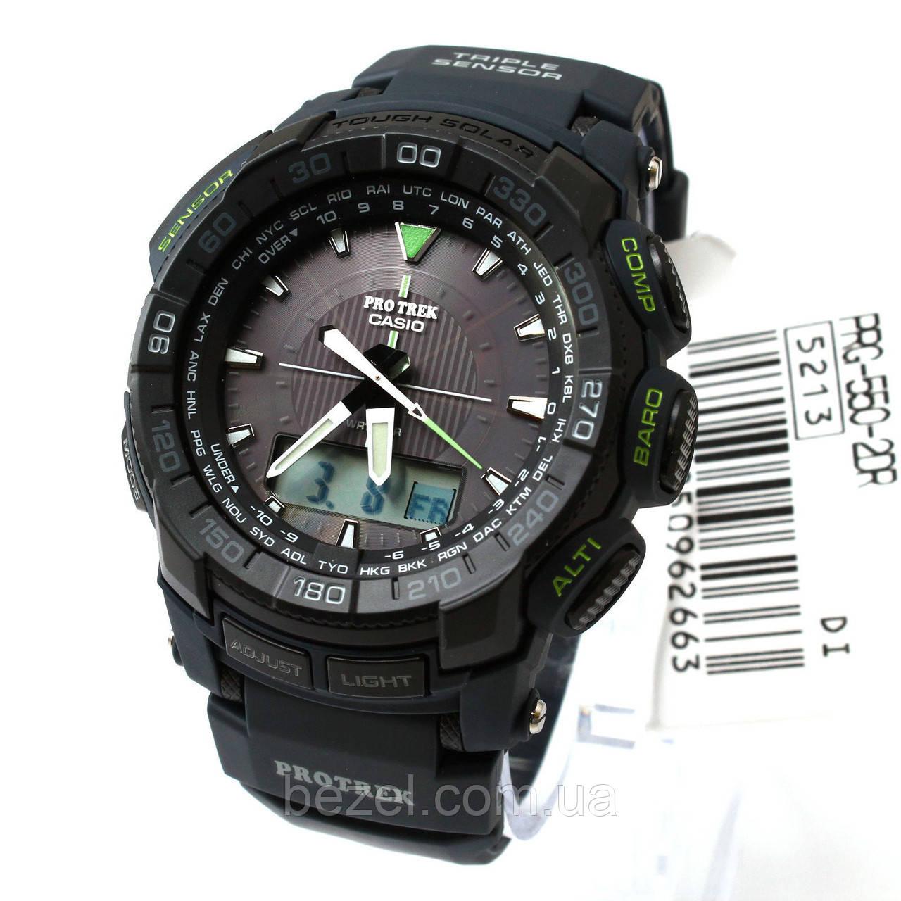 Мужские часы Casio Pro-Trek PRG550-2CR