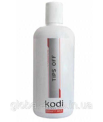 Tips Off Kodi (Жидкость для снятия гель лака/акрила) 500 мл