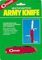 """Многофункциональный армейский нож Coghlan's """"Army Knife"""" (5 предметов) 9505"""