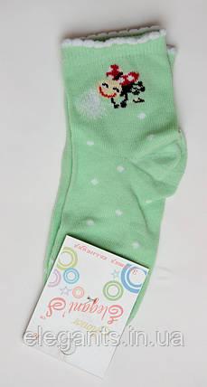 Носки для девочек (16 размер) / 3-4 года/ 90% хлопок., фото 2
