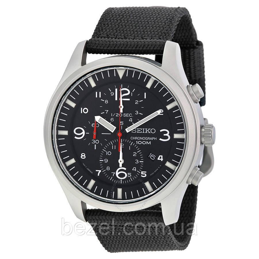 Мужские часы Seiko Military SNDA57P1 хронограф Quartz 7T92