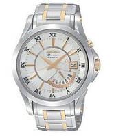 Мужские часы SEIKO Premier Kinetic Retrograde Day SRN004P1