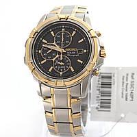 Мужские часы Seiko SSC142P1 хронографSOLAR