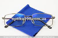 Мужские очки для компьютера со стеклянными линзами