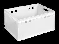 Ящики пластиковые для мяса 600 x 400 x 300 Е3 Белый (первичный)