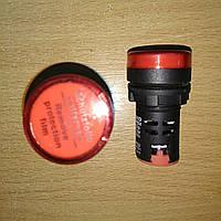 Светосигнальный индикатор AD22 (LED) матрица 22mm красная 230В АС
