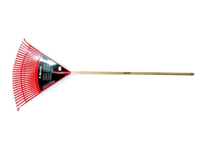 Грабли веерные 810 мм  пластиковые с держаком