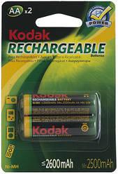 Аккумулятор Kodak Ni-MH R6 2600 mAh 1x2шт.