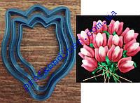 Набор вырубок Головка тюльпана 3 размера