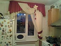 Ламбрекенчик односторонний в кухню