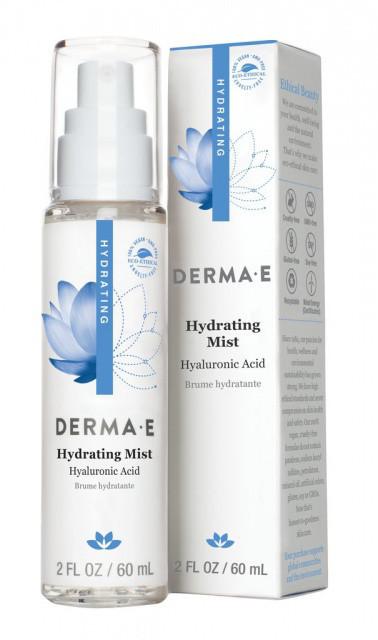 Зволожуючий спрей з гіалуронової кислотою *Derma E (США)*