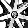 LEXANI R-SEVEN Gloss Black with Machined Face, фото 3