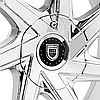 LEXANI CSS-7 Chrome with Covered Lugs, фото 3