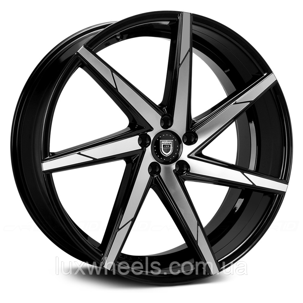 LEXANI CSS-7 Gloss Black with Machined Face