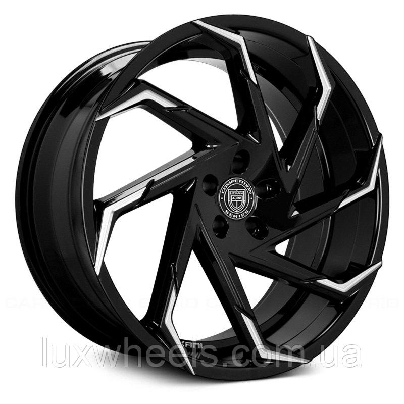 LEXANI CYCLONE Gloss Black with Machined Tips