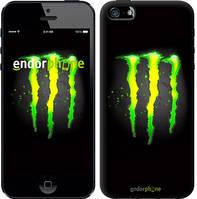 """Чехол на iPhone 5s Monster energy """"821c-21-8545"""""""