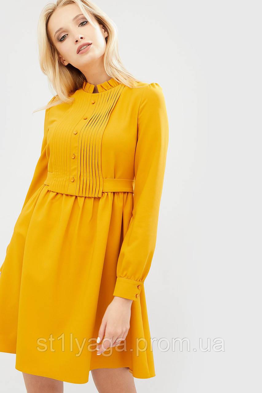 """Платье """"NILAN"""" желтый весна"""