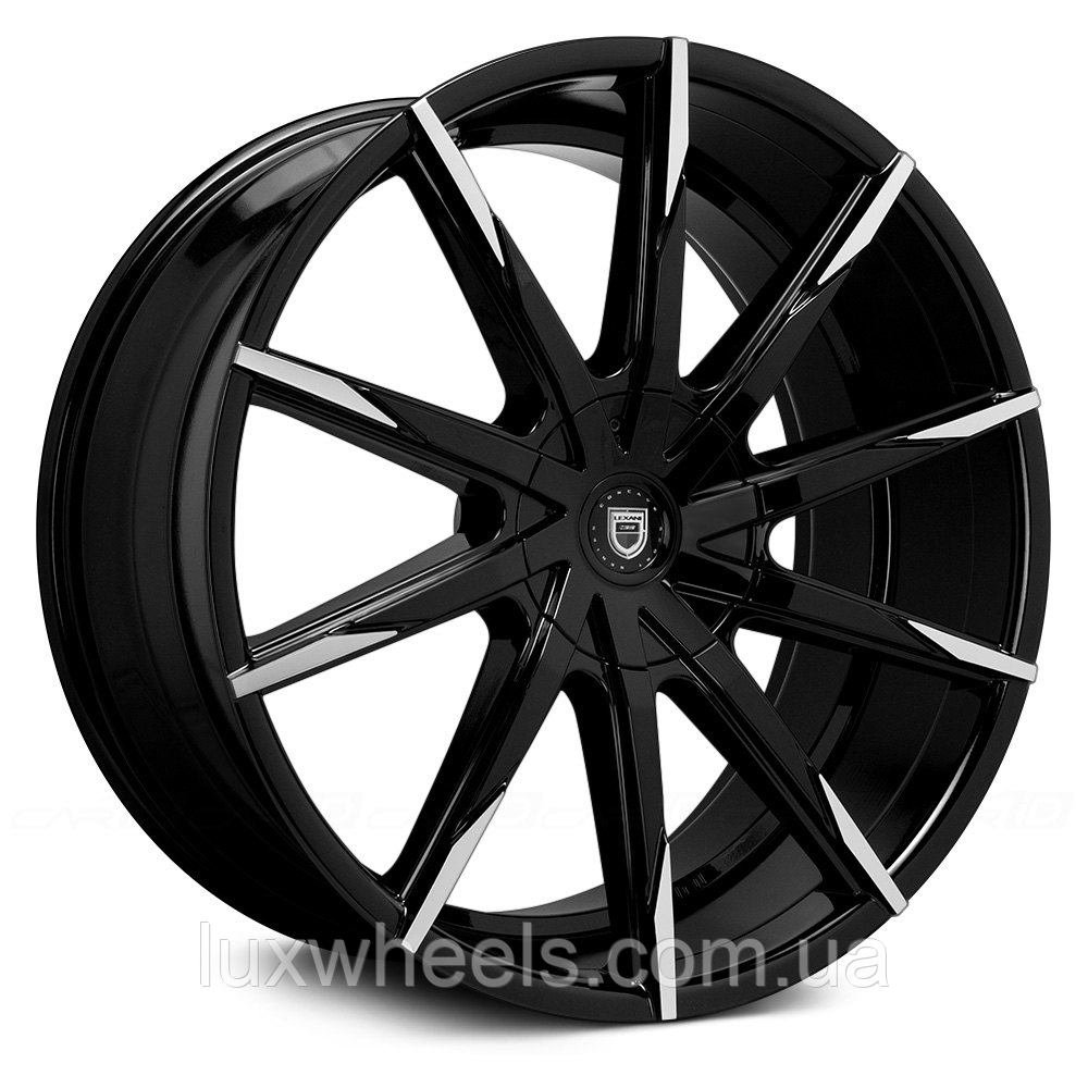 LEXANI CSS-15 Gloss Black with Machined Tips