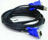 Кабель D-Link DKVM-CU3 для KVM-переключателя с USB, 3м