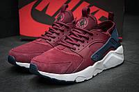 Кроссовки мужские Nike Air Huarache, бордовые (11593),  [  42 (последняя пара)  ], фото 1