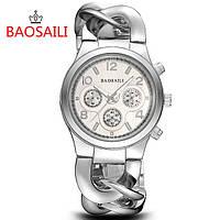 Женские Часы Baosaili . Цвет серебро ..