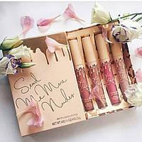 Набор матовых помад Kylie - Send Me More Nudes - Velvet Liquid Lipstick