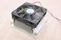 Радиатор с кулером для светодиода 30-50 ватт
