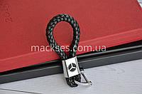 Брелок кожаный Mackses Mercedes-Benz Черный