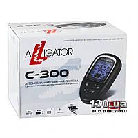 Автосигнализация Alligator C-300 с обратной связью и автозапуском двигателя